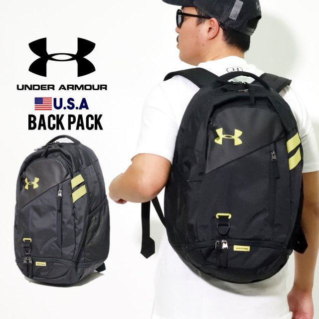 UNDER ARMOUR アンダーアーマー バックパック UA HUSTLE 4.0 BACKPACK 1342651 グレー