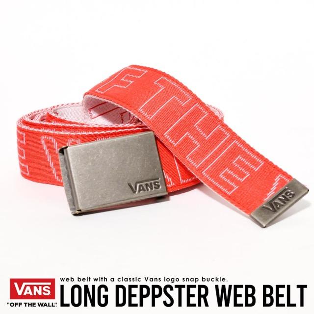 VANS (バンズ) ウェブベルト M LONG DEPSTER WEB BELT (VN0A3HZW)