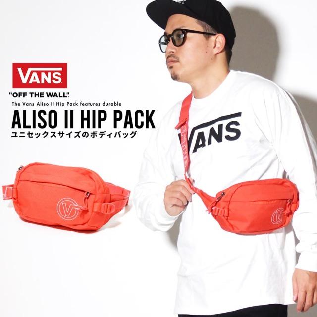 VANS (バンズ) ヒップバッグ M ALISO II HIP PACK (VN0A3I6C)