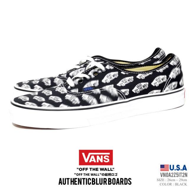 VANS バンズ スニーカー オーセンティック メンズ AUTHENTIC BLUR BOARDS VN0A2Z5IT2N ストリート系 スケーター ファッション 靴 通販