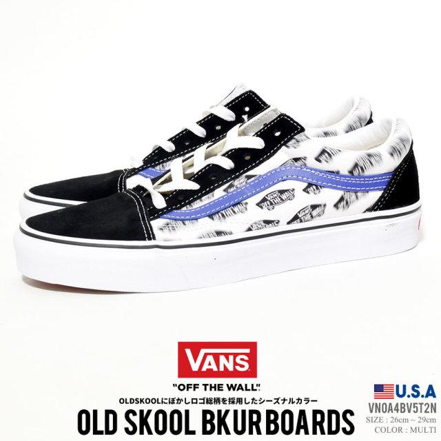 VANS バンズ スニーカー オールドスクール メンズ OLD SKOOL BLUR BOARDS VN0A4BV5T2N ストリート系 スケーター ファッション 靴 通販