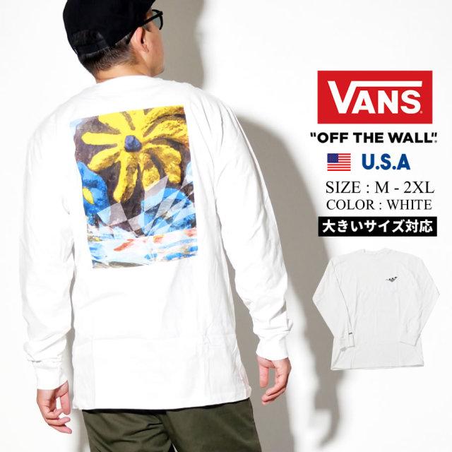 VANS (バンズ) 長袖Tシャツ M DESERT TRIP LS (VN0A49KD)