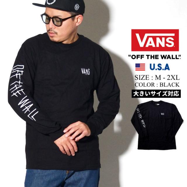VANS (バンズ) 長袖Tシャツ M MATTHIAS DANDOIS LS (VN0A49LA)