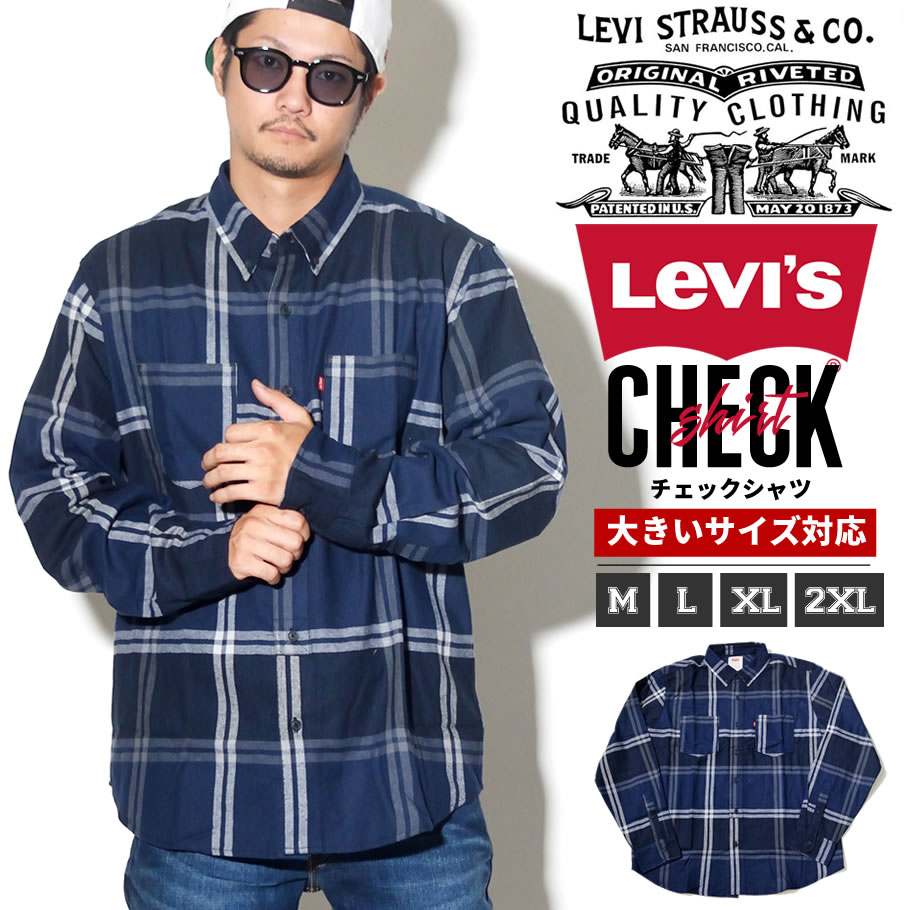 LEVI'S (リーバイス) 長袖シャツ LSOT007