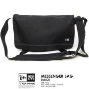 NEW ERA ニューエラ メッセンジャーバッグ MESSENGER BAG ブラック 11172336 6V9031