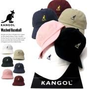 KANGOL カンゴール ロークラウンキャップ WASHED BASEBALL 100169212 7V1228