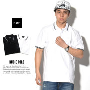HUF ハフ ポロシャツ RUDIE POLO KN00003 7V1385
