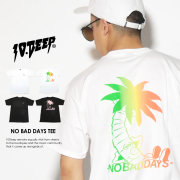 10DEEP テンディープ 半袖Tシャツ NO BAD DAYS TEE 72TD4314 7V3399