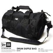 NEW ERA ニューエラ ドラムダッフルバッグ DRUM DUFFLE BAG ブラック 11404474 7V9088