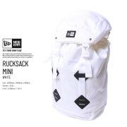 NEW ERA ニューエラ バックパック RUCKSACK MINI ホワイト 11474298 7V9267