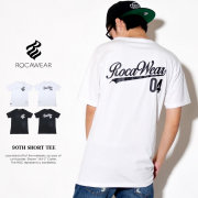 ROCAWEAR ロカウェア 半袖Tシャツ メンズ 90TH SHORT TEE (RWTS010)