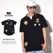 REASON リーズン ポロシャツ メンズ RICHMOND POLO (S9-105)