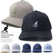 KANGOL カンゴール カーブバイザーキャップ メンズ 帽子 WOOL FLEXFIT BASEBALL (100169216)