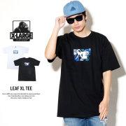 X-LARGE エクストララージ 半袖Tシャツ メンズ LEAF XL TEE (M18A1101)