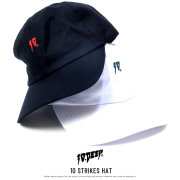 10DEEP テンディープ カーブバイザーキャップ 10 STRIKES HAT (181TD6205)