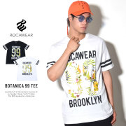 ROCA WEAR ロカウェア 半袖Tシャツ BOTANICA 99 TEE (RW181T02)