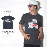 MISTER TEE ミスターティー 半袖Tシャツ C.R.E.A.M BUNDLE TEE (MT185)