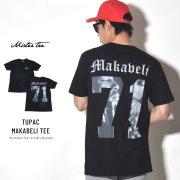 MISTER TEE ミスターティー 半袖Tシャツ TUPAC MAKABELI TEE (MT512)