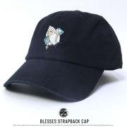 DGK ディージーケー カーブバイザーキャップ BLESSES STRAPBACK CAP (DH-950)