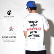 ROCAWEAR ロカウェア 半袖Tシャツ WLDWD BKNY TEE (RW182T03)