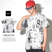 HUF ハフ 半袖Tシャツ STAG S/S TEE (TS00256)