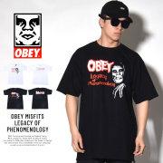 OBEY オベイ 半袖Tシャツ OBEY MISFITS LEGACY OF PHENOMENOLOGY (163081760)