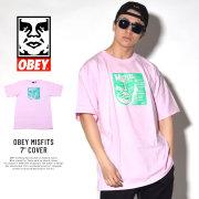 OBEY オベイ 半袖Tシャツ OBEY MISFITS 7'' COVER (163081765)