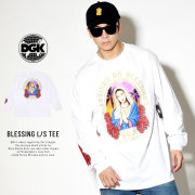 DGK ディージーケー 長袖Tシャツ BLESSING L/S TEE ホワイト DLS-356