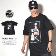 DGK ディージーケー 半袖Tシャツ WORLD WIDE TEE ブラック DT-4247