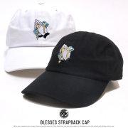 DGK ディージーケー カーブバイザーキャップ BLESSES STRAPBACK CAP (DH-950 DH-951)