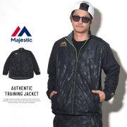 MAJESTIC マジェスティック ナイロンジャケット AUTHENTIC TRAINING JACKET XM23-MAJ0040