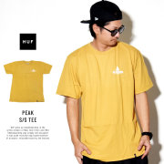 HUF ハフ 半袖Tシャツ PEAK S/S TEE TS00387