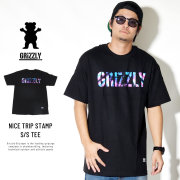Grizzly Griptape 半袖Tシャツ NICE TRIP STAMP S/S TEE GMC1801P16