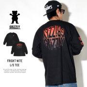 Grizzly Griptape 長袖Tシャツ FRIGHT NITE L/S TEE GMC1802P03
