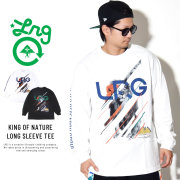 LRG エルアールジー 長袖Tシャツ KING OF NATURE LONG SLEEVE TEE L181108