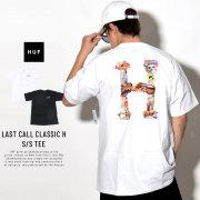 HUF ハフ 半袖Tシャツ LAST CALL CLASSIC H S/S TEE TS00476