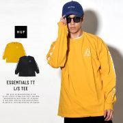 HUF ハフ 長袖Tシャツ ESSEMTIALS TT L/S TEE TS00506