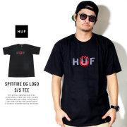 HUF ハフ 半袖Tシャツ SPITFIRE OG LOGO S/S TEE TS00738