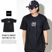 HUF ハフ 半袖Tシャツ PEANUTS SNOOPY RESTING S/S TEE TS00645