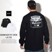 HUF ハフ 長袖Tシャツ BUDWEISER PIT CREW L/S TEE TS00741