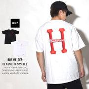 HUF ハフ 半袖Tシャツ BUDWEISER CLASSIC H S/S TEE TS00743