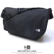 NEW ERA ニューエラ ショルダーバッグ ラージ SHOULDER LARGE ブラック (11556626)