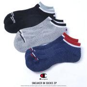 Champion チャンピオン スニーカーソックス メンズ 靴下 3足組 SNEAKER IN SOCKS 3P (C1-0786T)