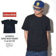 UNITED ATHLE ユナイテッドアスレ 半袖Tシャツ AUTHENTIC SUPER HEAVY WEIGHT 7.1OZ S/S TEE ブラック (4252-01)