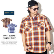 PENDLETON ペンドルトン 半袖チェックシャツ SHORT SLEEVE FRONTIER SHIRT DA420