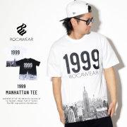 ROCA WEAR ロカウェア 半袖Tシャツ マンハッタン 1999 MANHATTAN TEE RW183T05S