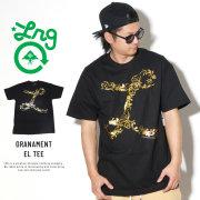 LRG エルアールジー 半袖Tシャツ 箔プリント ORANAMENT EL TEE C191023