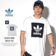 ADIDAS アディダス 半袖Tシャツ トレフォイル BLACK BIRD SOLID TEE CW2326
