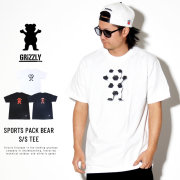 GRIZZLY グリズリー 半袖Tシャツ SPORTS PACK BEAR 19113