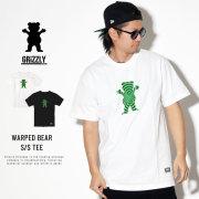 GRIZZLY グリズリー 半袖Tシャツ WARPED BEAR 19123